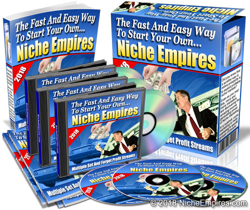 Niche products with private label rights and master resell rights